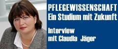 Interview mit Claudia Jäger, Vorsitzende der Studienvertretung IDS Pflegewissenschaft, Universität Wien