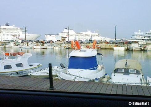 Hafen, Altstadt von Rhodos-Stadt